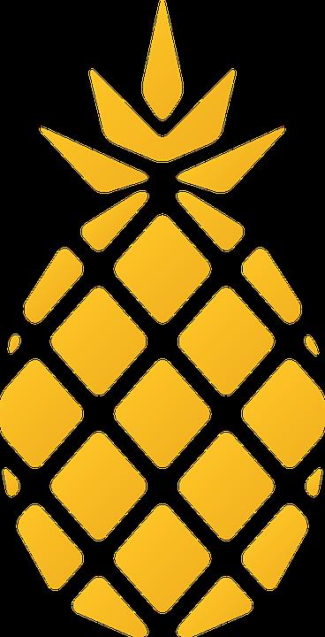 Pineapple Fruit Logo - Free vector graphic on Pixabay