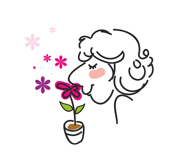 Man Women S Fragrant Flowers 183 Free Vector Graphic On Pixabay