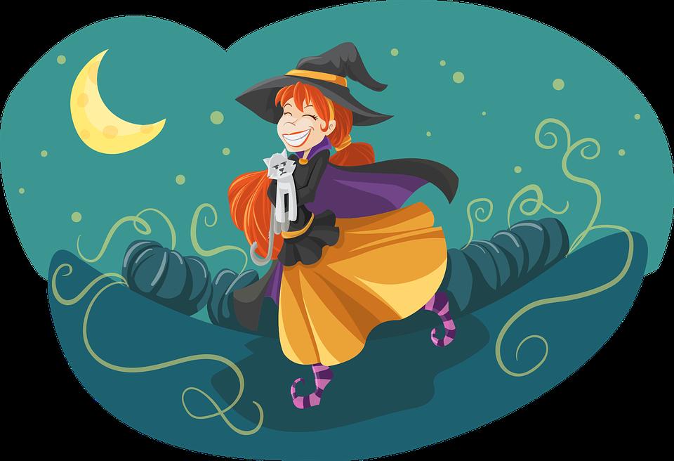 sorcière heure du conte halloween