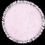 tag, pink, frayed