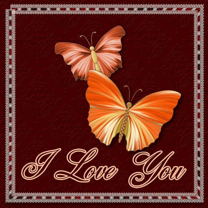 I love you butterflies greeting free image on pixabay i love you butterflies greeting card celebrate m4hsunfo