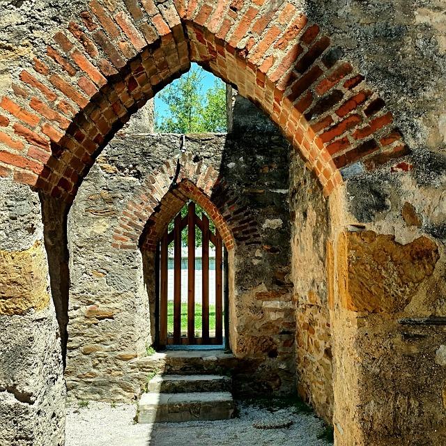 Free Photo Doorway Bricks Gate Entrance Free Image