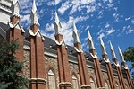 spires, tabernacle, church