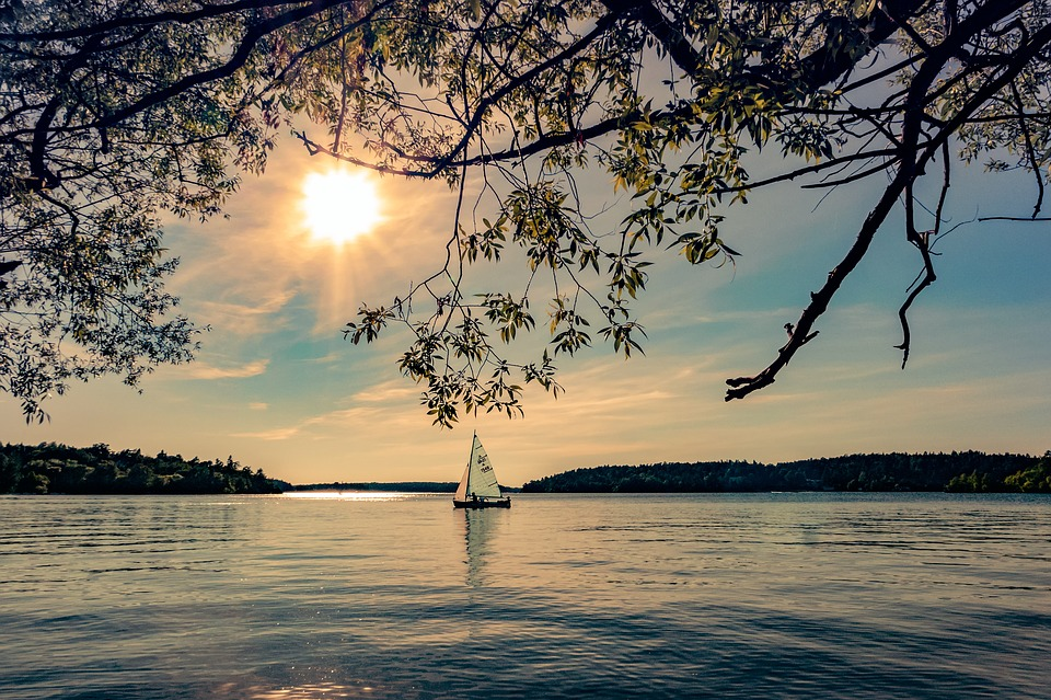 Gratis foto: Sommar, Vatten, Skärgård, Solsken - Gratis