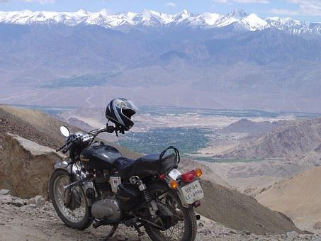 Mountain valley in Leh