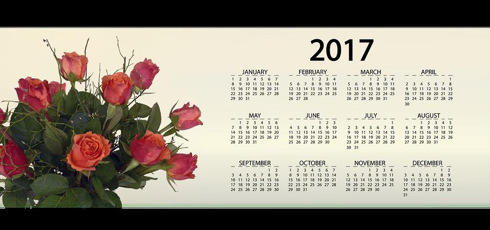 Calendario Rosa Png.Agenda Calendario Rosas Imagen Gratis En Pixabay