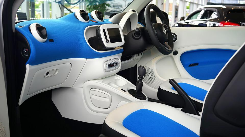 Free photo car interior car interior free image on for Auto interieur reinigen zelf