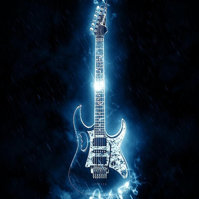 Ilustraci n gratis guitarra el ctrica guitarra imagen for Luthier guitarra electrica