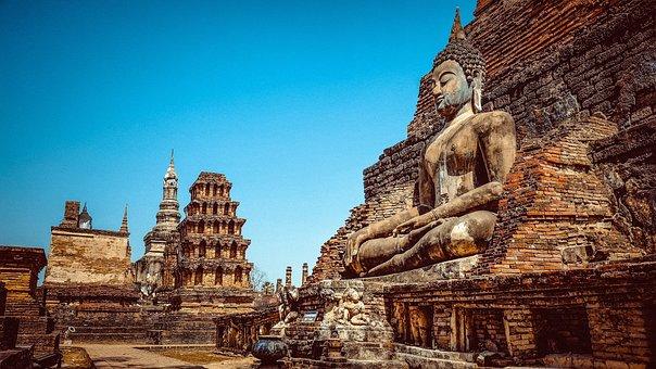 Thailand, Buddha, Buddhism, Asia