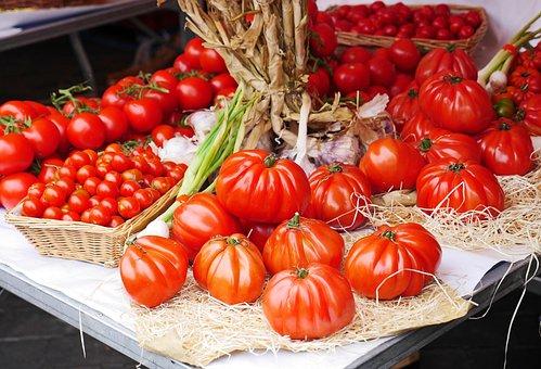 Tomatenparadies Mallorca - runde Vielfalt