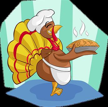 Truthahn, Kochen, Kuchen, Hut, Kochhut