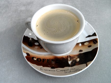 Coffee Cup, Cup, Saucer, Ceramic, Coffee