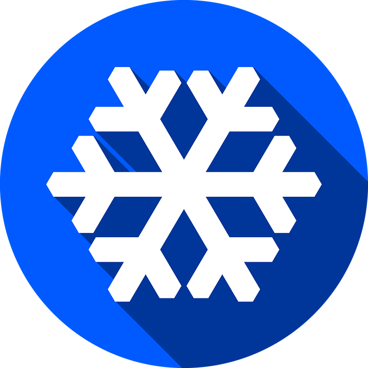 free illustration snow flake icon button cold free