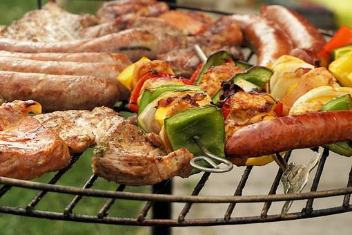Grill, Meat, Barbecue, Grilled, Summer