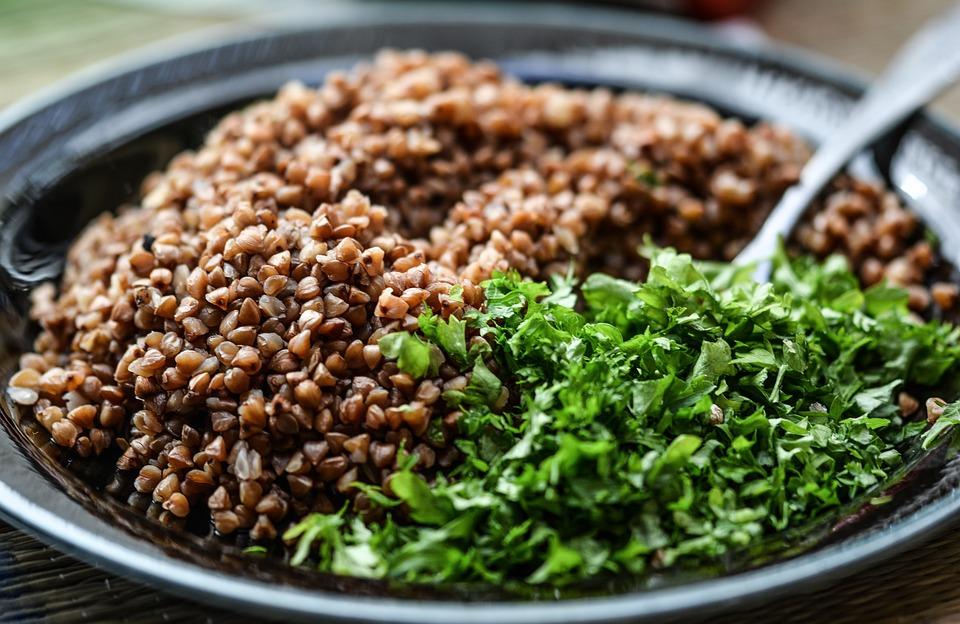 Крупа, Питание, Травы, Вегетарианский, Зерна, Миска