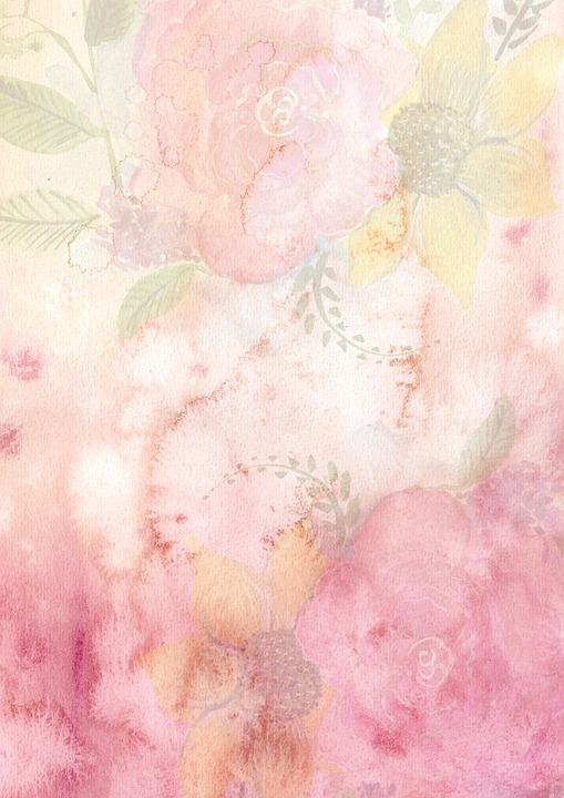 Background watercolor flowers free image on pixabay background watercolor flowers pink romantic soft mightylinksfo