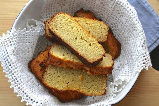 Pão, Livre De Glúten, Caseiro