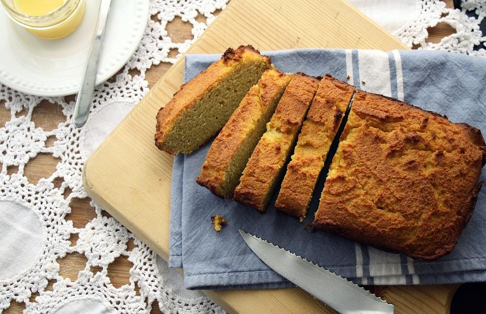 Pane, Senza Glutine, Fatto In Casa, Farina Di Cocco