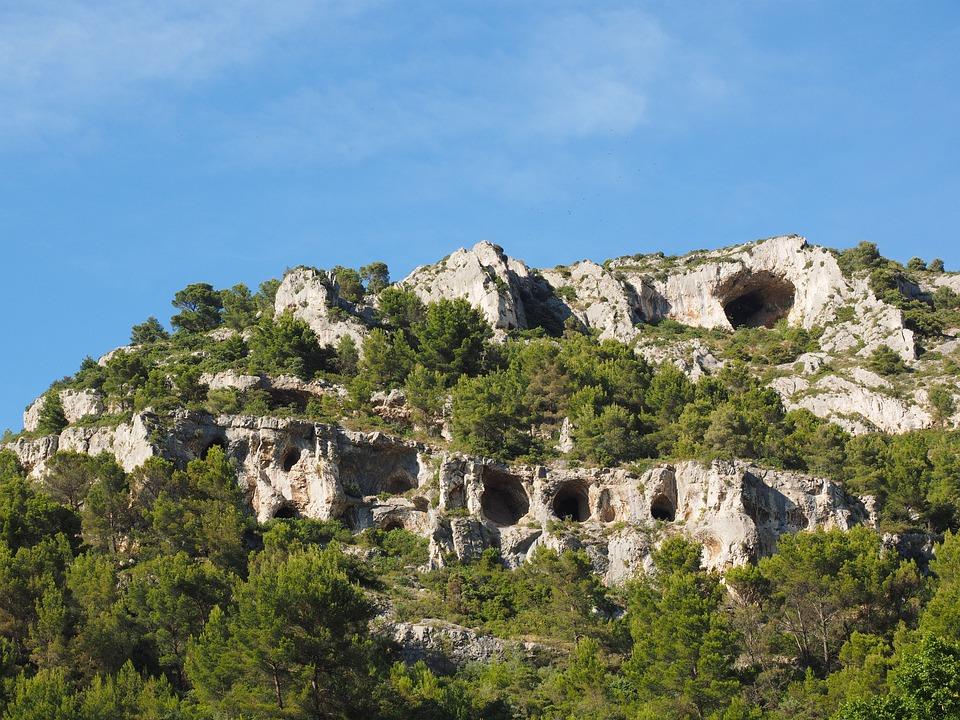 Karst, Kras, Rock, Francie, Provence