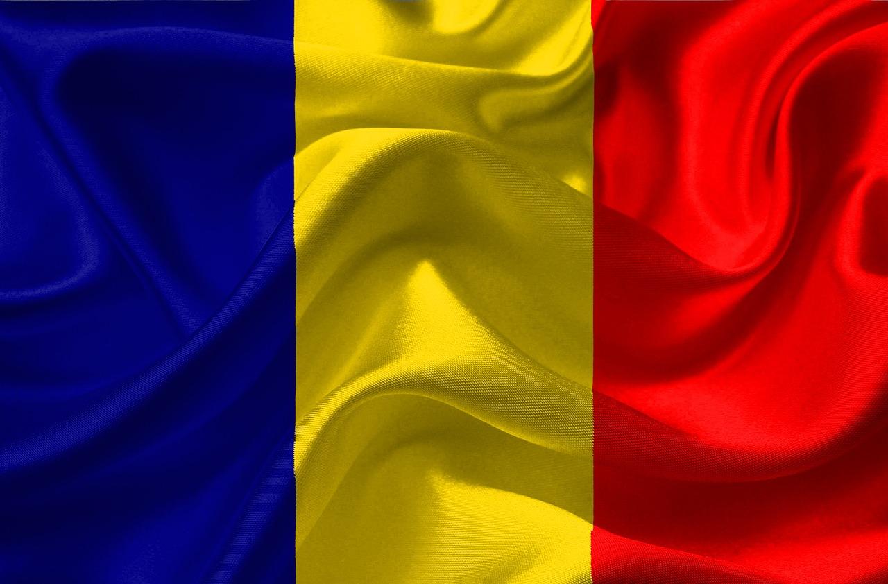 вступился румыния флаг фото цвета стиля
