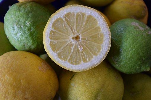 Lemons, Healthy, Vitamins, Vitamin C