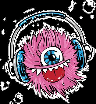 Monster, Headphones, Headset, Listen