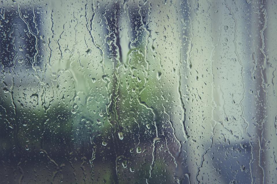 Rain Stoppers, Water, Window Pane, Drip, Drop Of Water