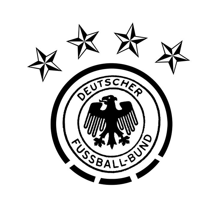 Dfb Lambang Bintang Gambar Gratis Pixabay Logo Sepak Bola Jerman