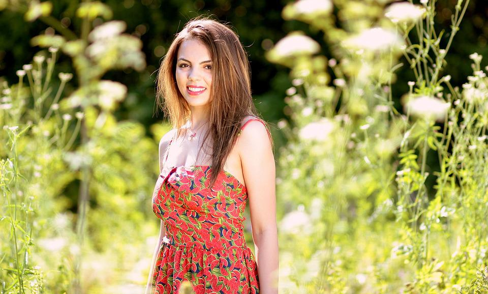free photo girl nature smile beauty summer free