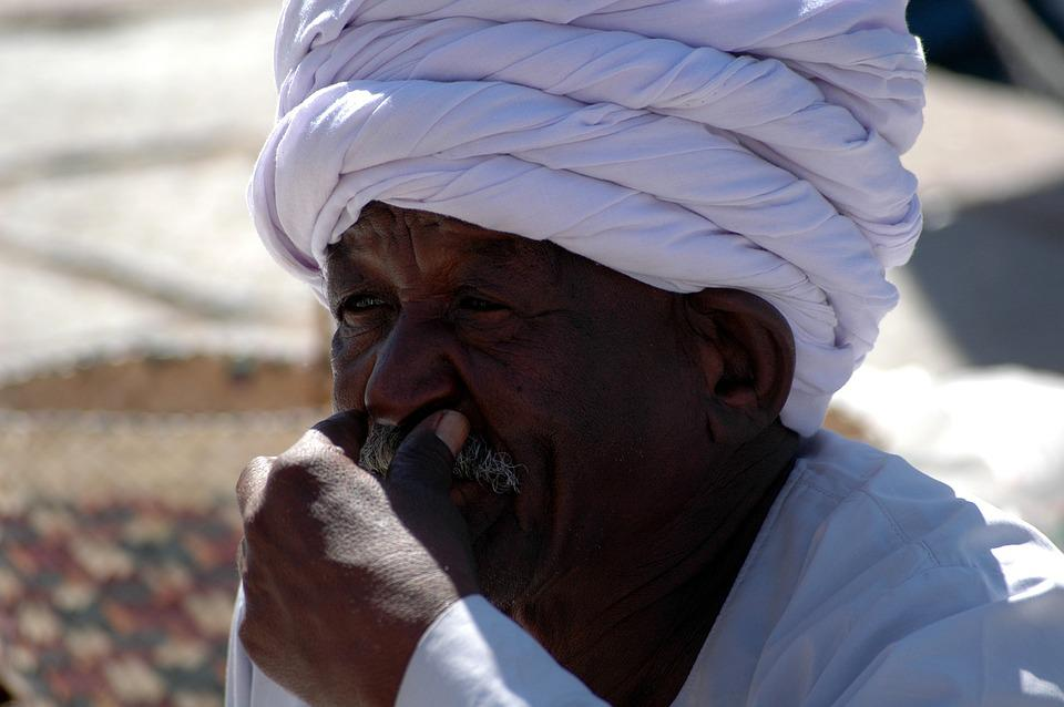 Egypt, Market, Turban, Man, Thoughtful, Dealer, Travel