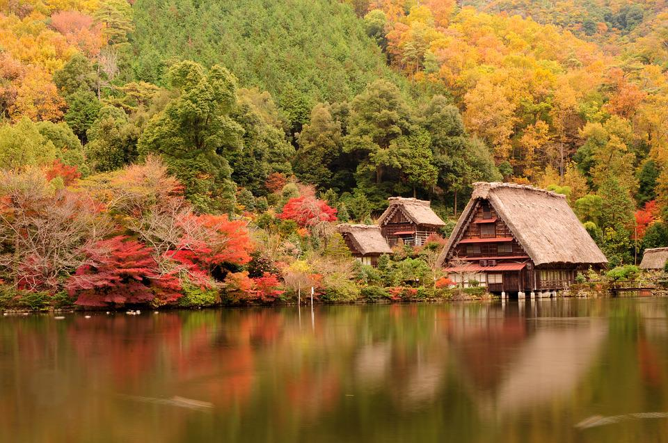 Japan Traditional House Lake 183 Free Photo On Pixabay