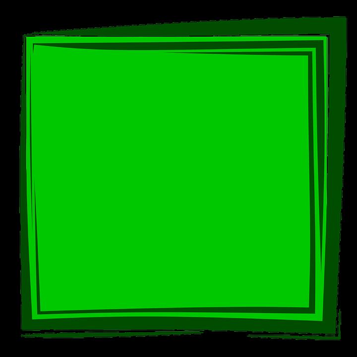 Green Frame Background · Free image on Pixabay