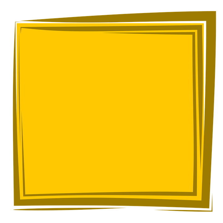 yellow frame frame background album border design - Yellow Frame