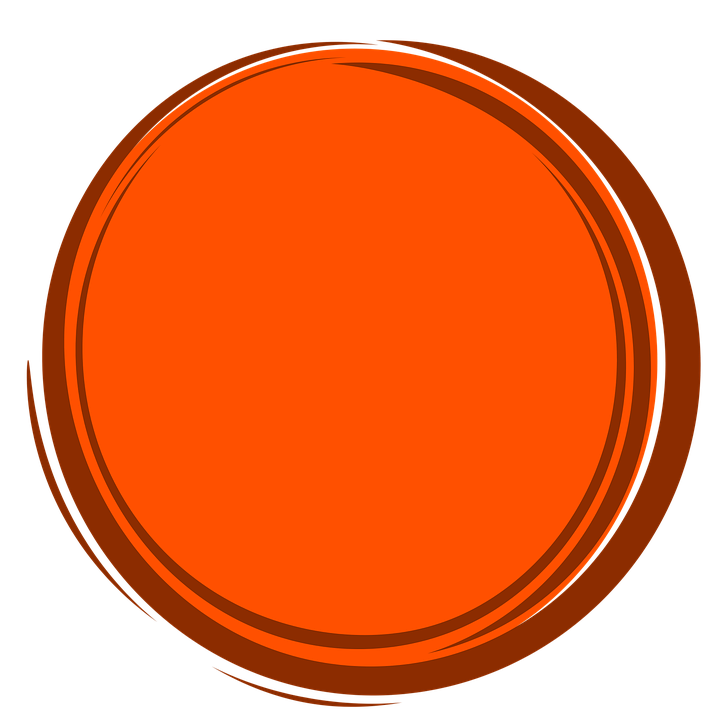 Círculo Naranja Marco · Imagen gratis en Pixabay