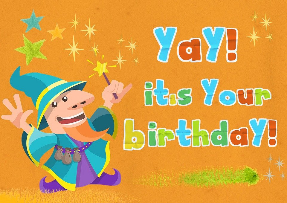 Free illustration Birthday Greeting Card Kids Free Image on – Birthday Card for Child