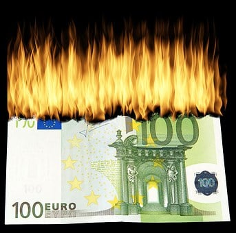 Burn Money, Burn Geldschein