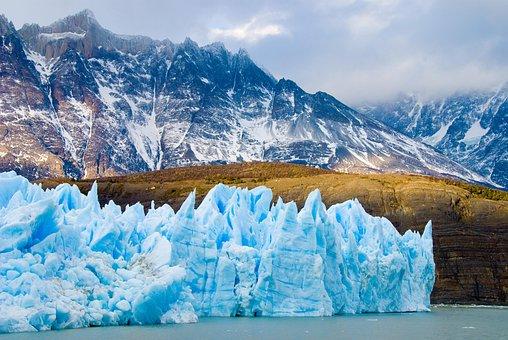 Chile, Patagonia, Glacier, Ice, Iceberg