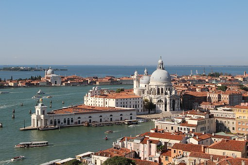 Italy Venice Europe Travel Water Canal Tou