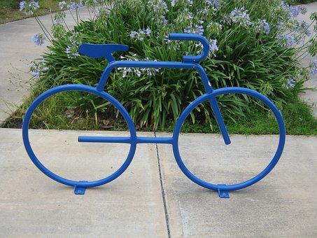 Bike, Park, New Orleans, City Park