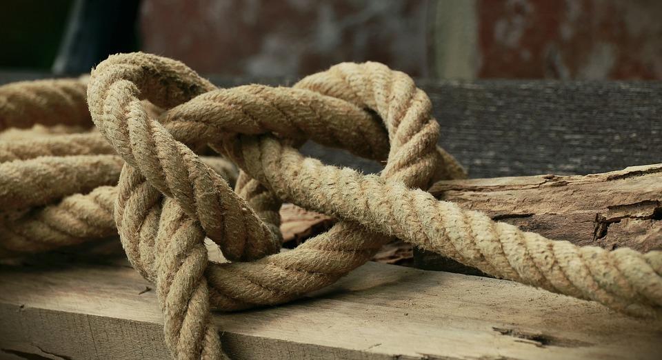 Knitting Knots Rolde : Free photo rope natural knot knitting