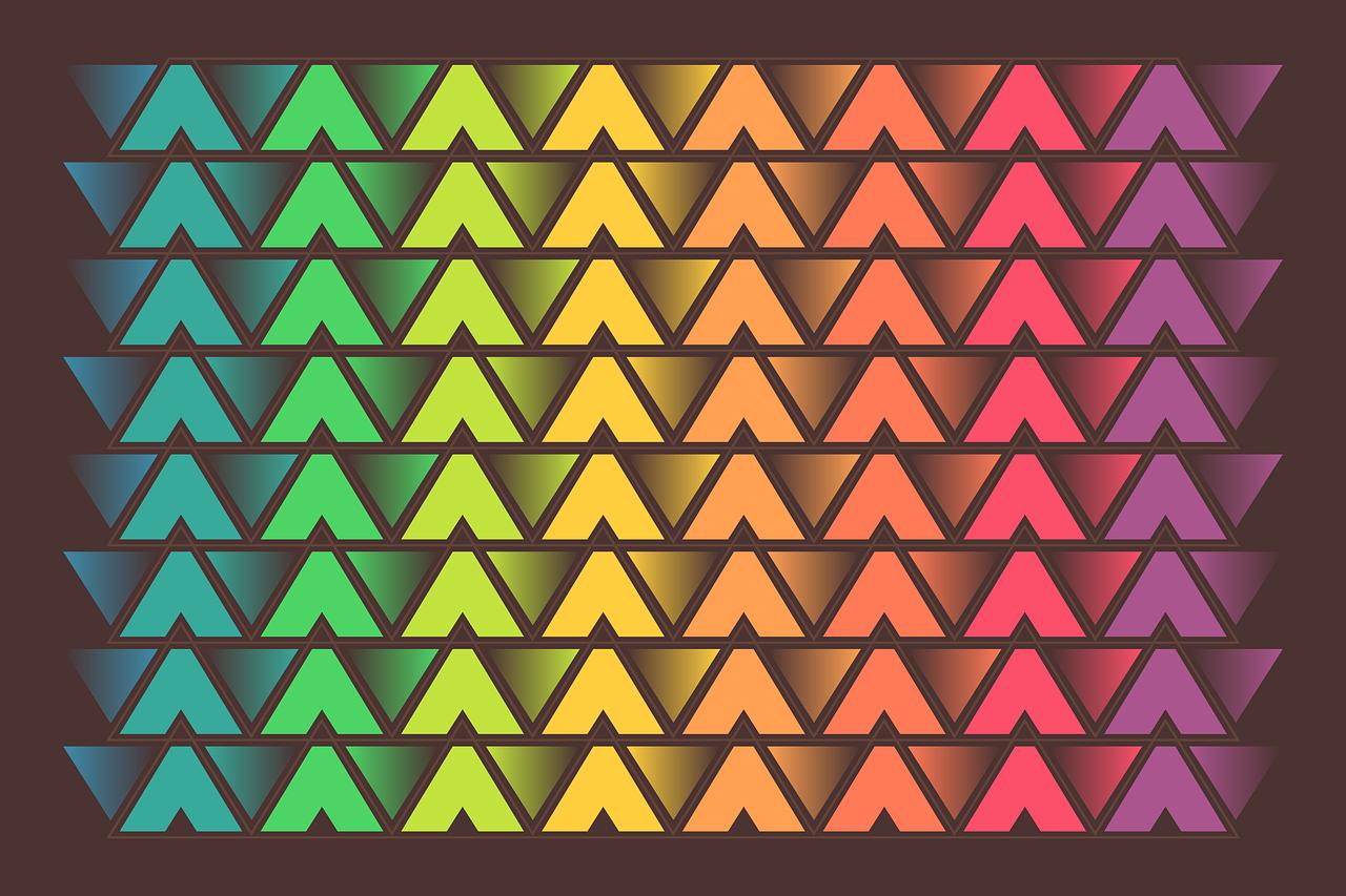 картинка с изображением треугольников гул колес при