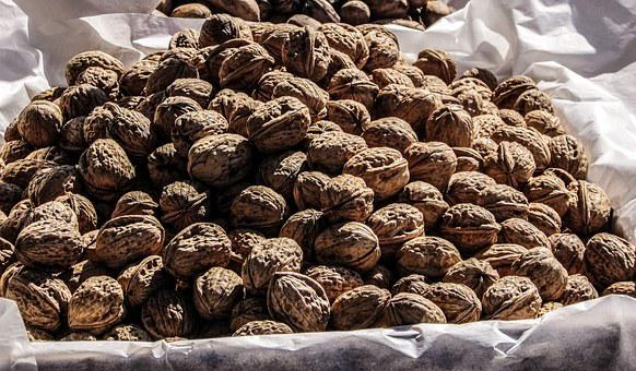 Walnuts, Nuts, Food, Vendors, Cyprus