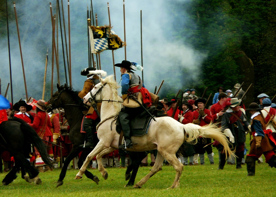 English, Civil, War, Reenactment, Prince