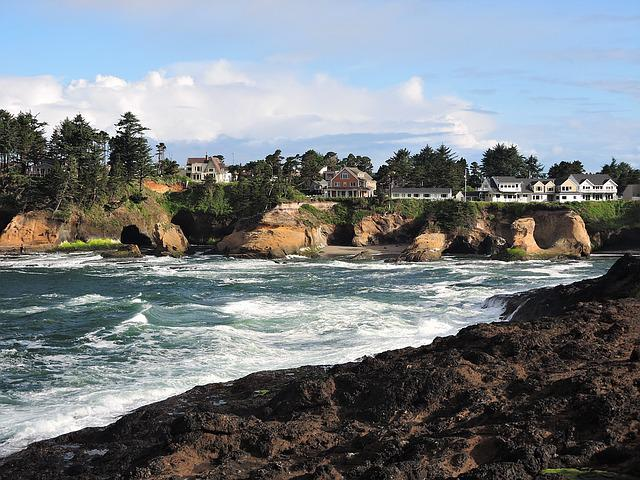 Depoe Bay Oregon Coast 183 Free Photo On Pixabay