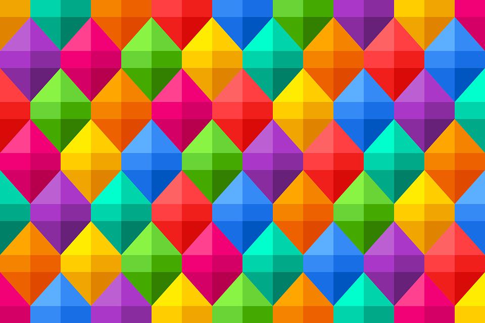 Fondo Geométrico: Illustration Gratuite: Arrière Plan, Coloré