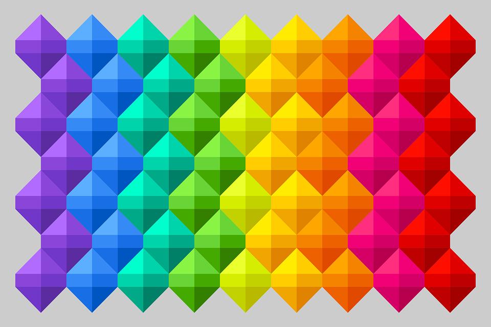 Free Illustration Background Colorful Geometric Free