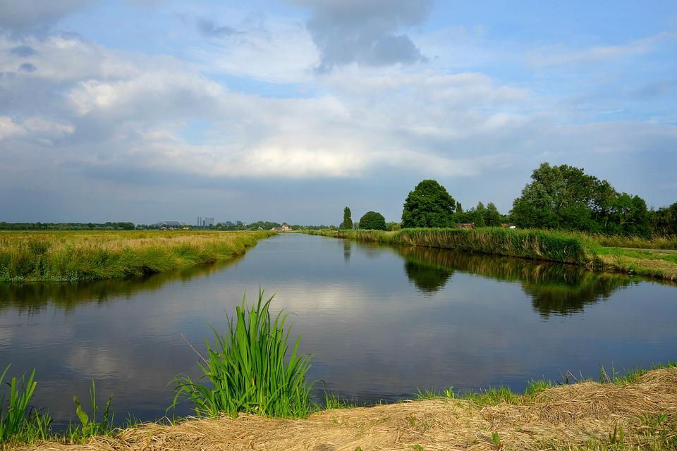 landscape dutch rural free photo on pixabay