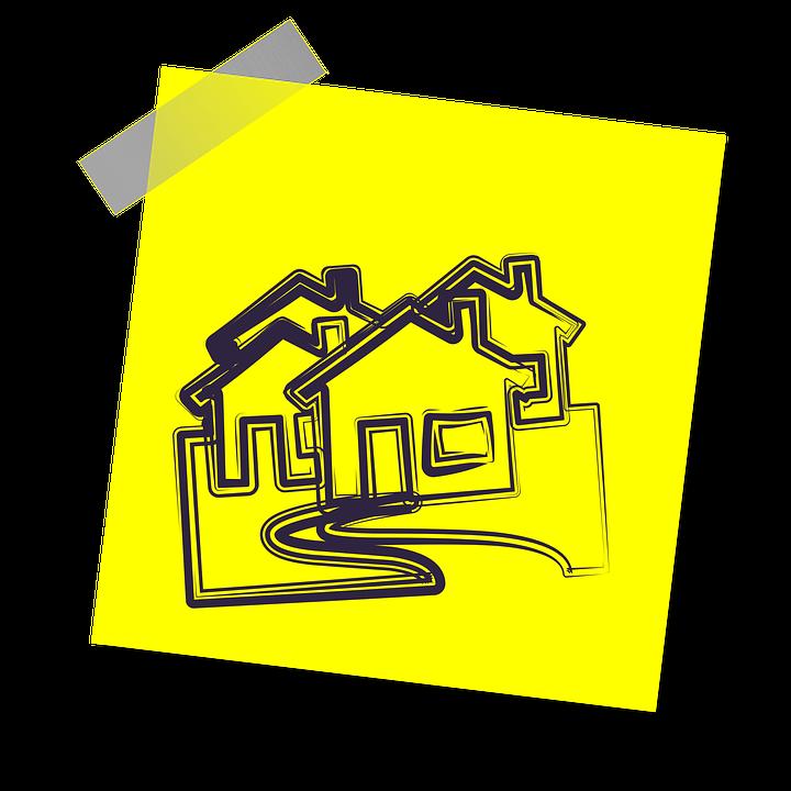 Immobilier, Accueil, Maison, Hypothèque