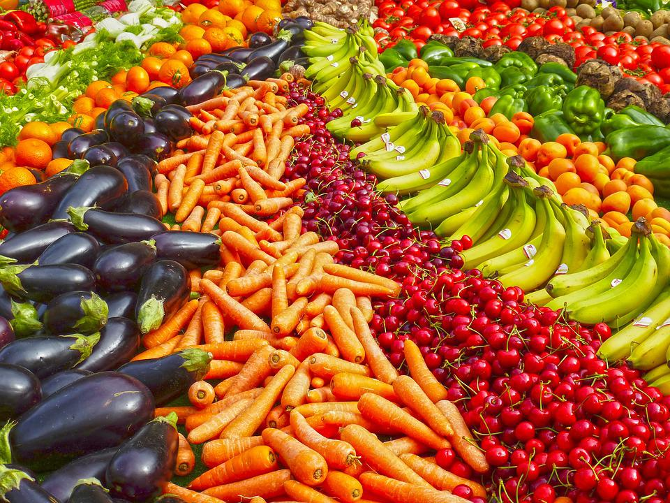 Frutta E Verdura, Frutta, Banana, Banane, Negozio