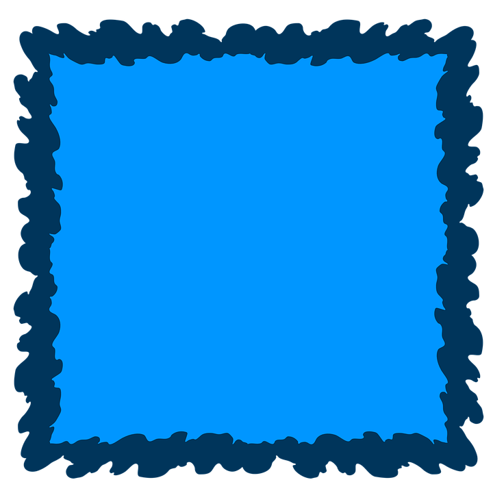 Blue Frame Background · Free image on Pixabay